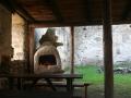 Gartengriller unter Pultdach