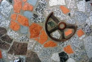 Fliese Metall - Marmor